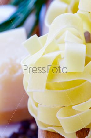Pasta and parmesan