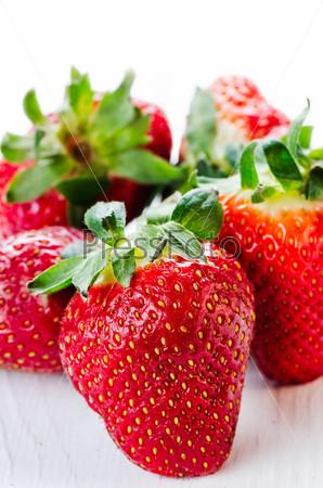 Couple strawberries