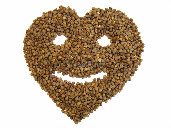 Buckwheat health with smile