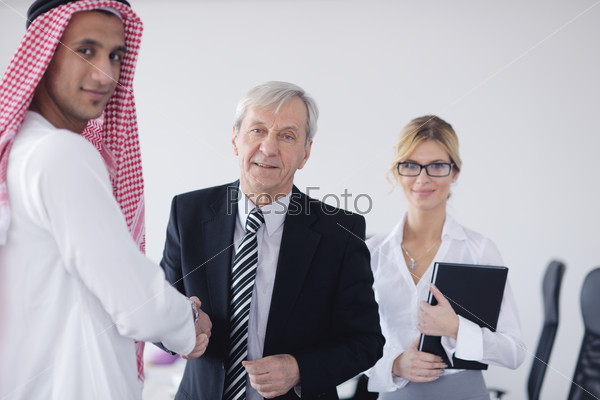 Arabic business man at meeting