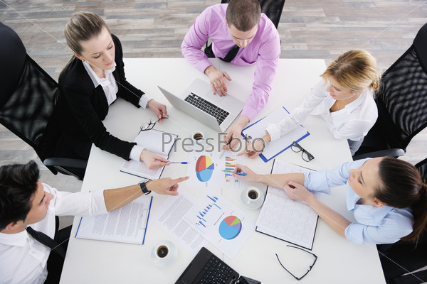 business people team on meeting