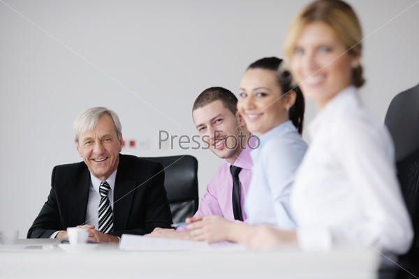 business people team on meeting