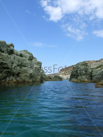 Seascape. Crimea. Ukraine