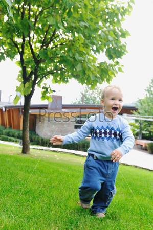 Children fashion outdoor