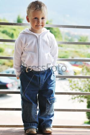 Children fashion outdoor