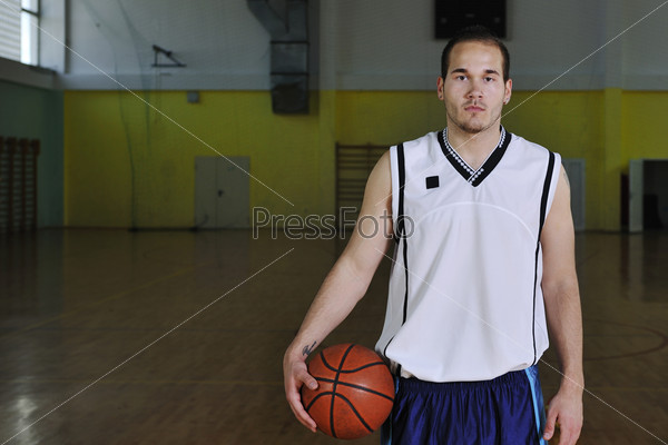 basketball man portrait