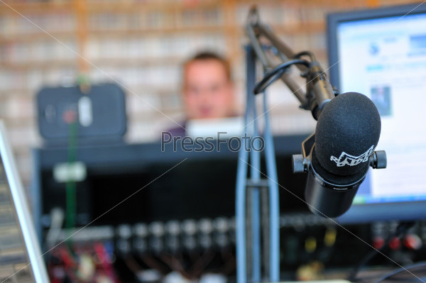 radio station microphone