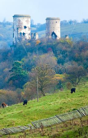 Chervonohorod Castle ruins (Ukraine)