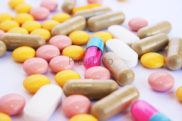 Medical pills and tablets