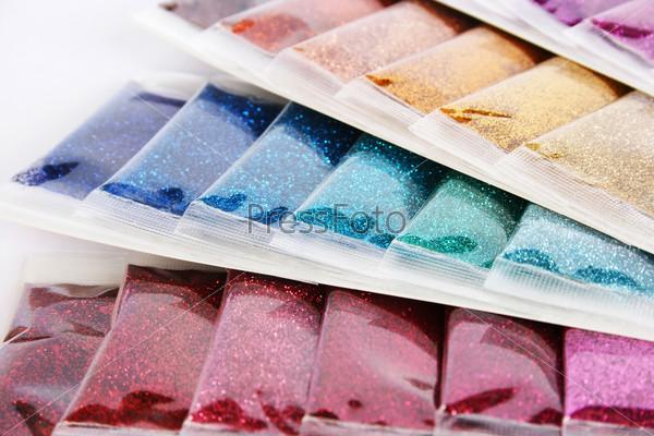 Nail glitters