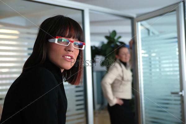 business woman team