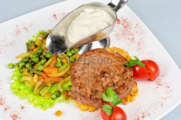 Beef steak meat
