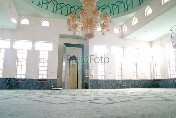 Интерьер мечети, Турция
