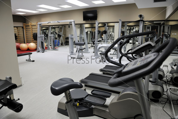 fitness gym center indoor