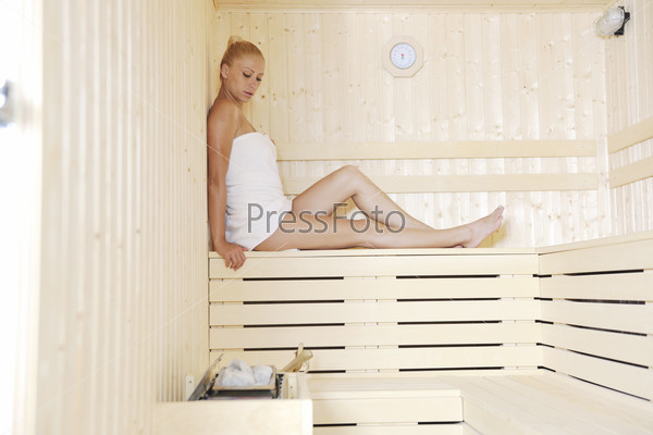 spa and wellness treatment at sauna