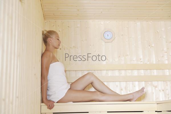 spa and wellness treatment at sauna