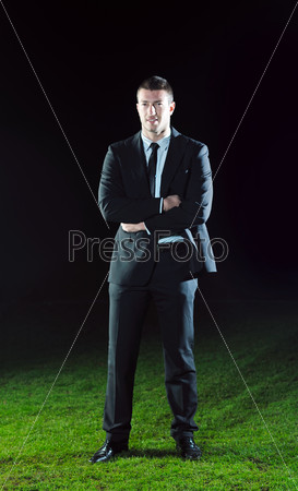 business man in sport