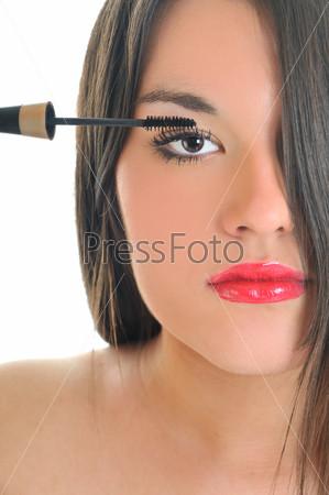 eyelash makeup