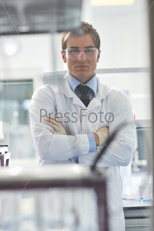 doctor scientist in labaratory