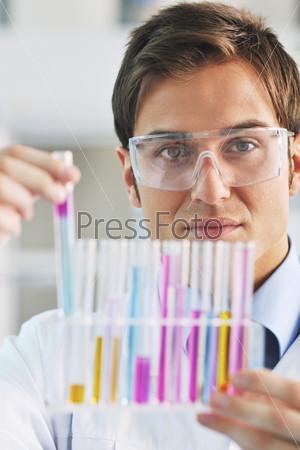 doctor scientist in labaratory