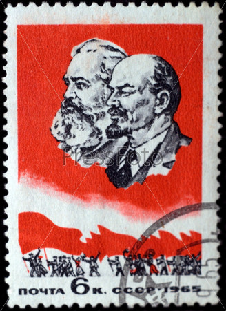 Почтовая марка СССР 1965 года