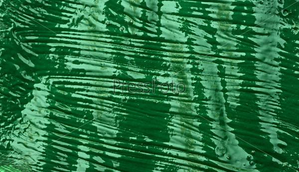closeup green paint background