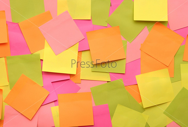 colorful background with reminder notes. can use for background