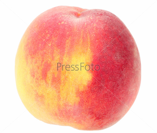 Single a big orange peach