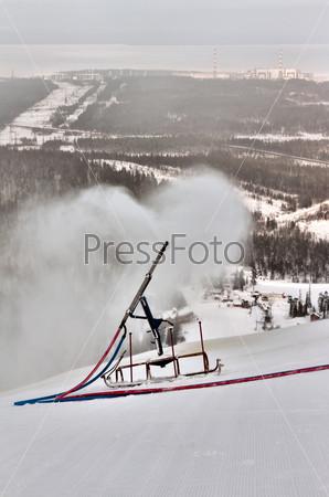 snow gun spray