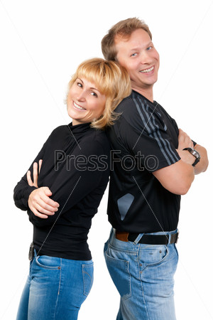 Beautiful couple in love