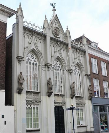 An old building in Den Bosch. Netherlands