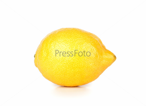 Fresh ripe lemon