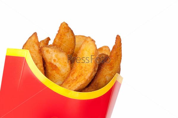 fast food. Fried potatoes