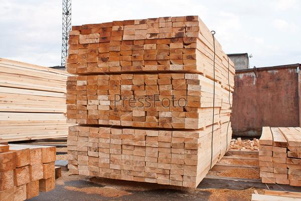 Продукция деревообрабатывающего предприятия