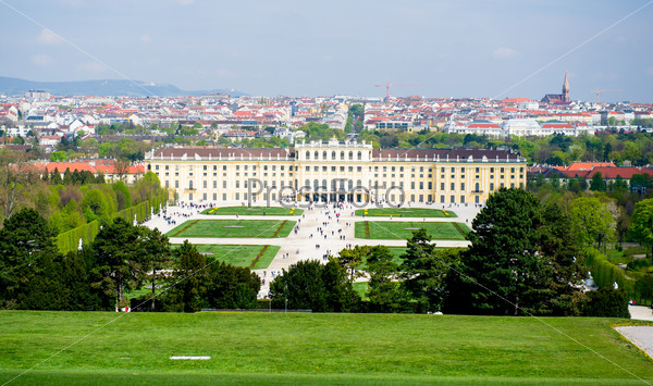 Schonbrunn Palace. One of the most important cultural monuments