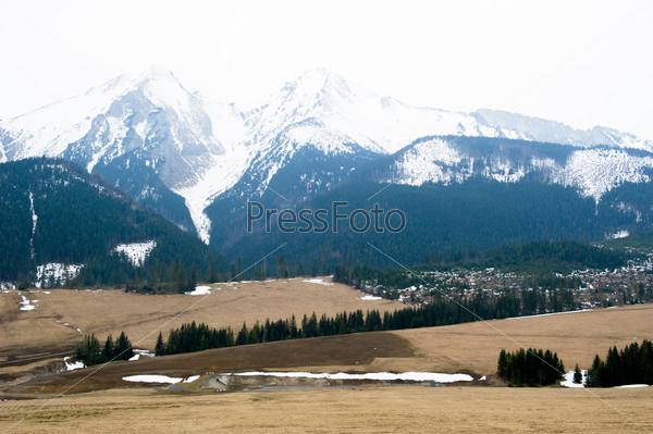 Tatra mountains in spring