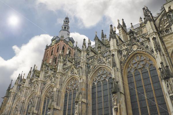 Cathedral in Den Bosch. Netherlands