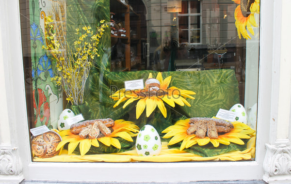 Easter storefront. Den Bosch, Netherlands