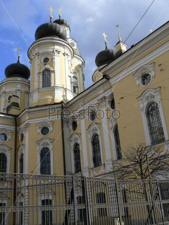 Православный храм в Санкт-Петербурге