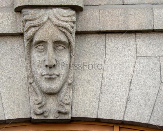 Декоративная деталь здания