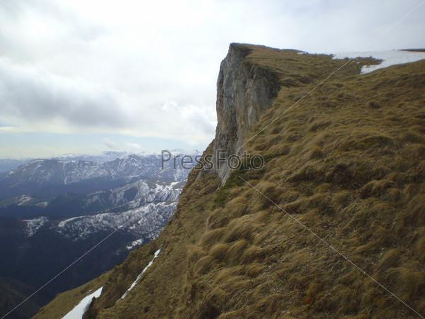 Выступающая деталь горы