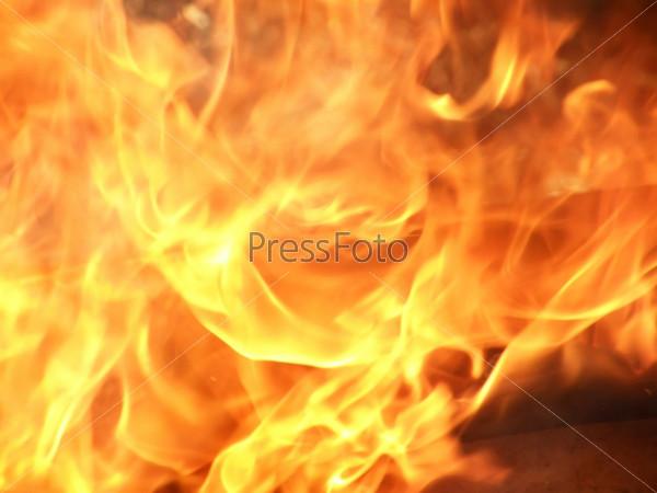 Огненый фон - fiery background