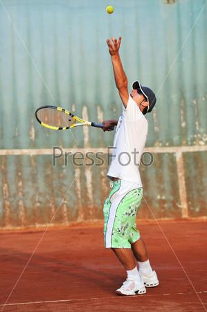tennis man