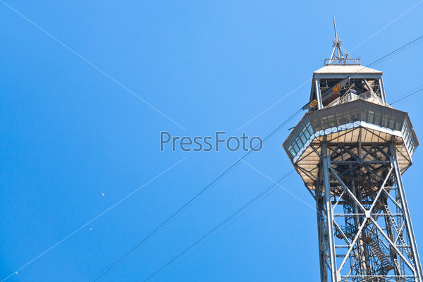 Port Vell Aerial Tramway in Barcelona