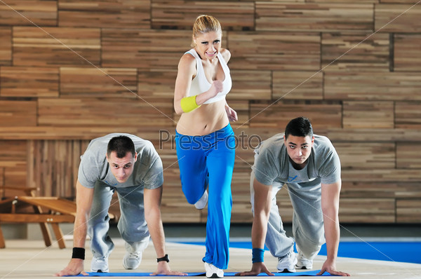 fitness group exercise