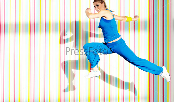 woman fitness one