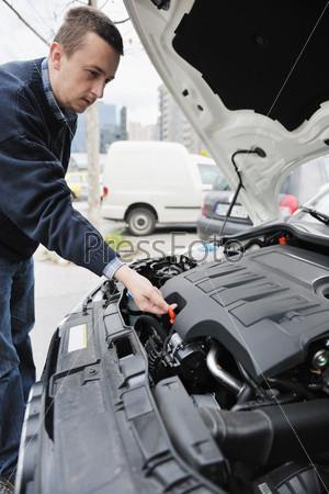 man car repair