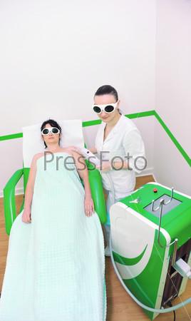 skincare and laser depilation