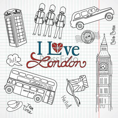 картинки рисунки лондона