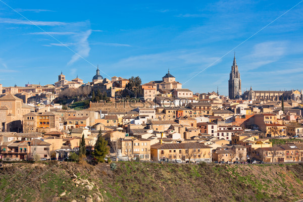 Old Toledo town, Spain